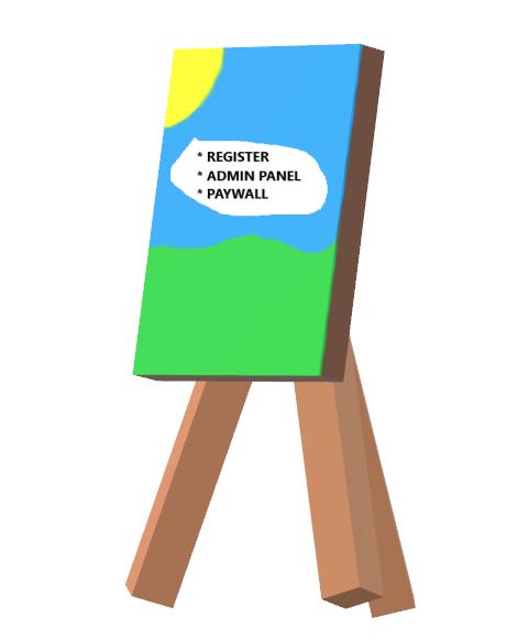 register a user