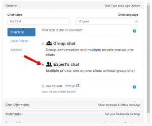 experts' chat