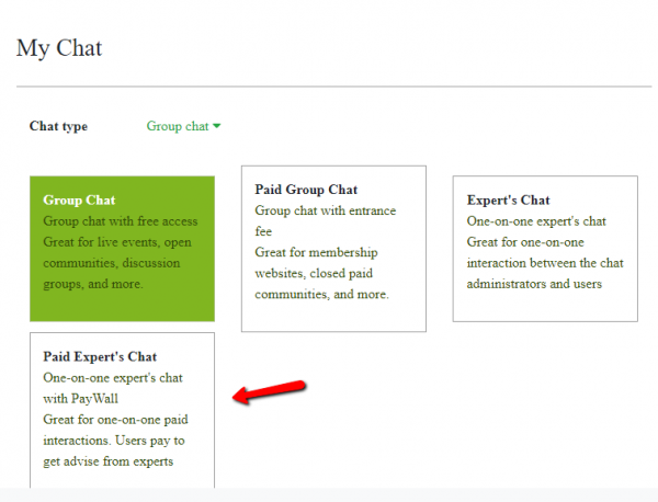 expert paid chat