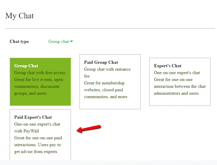 paid experts chat