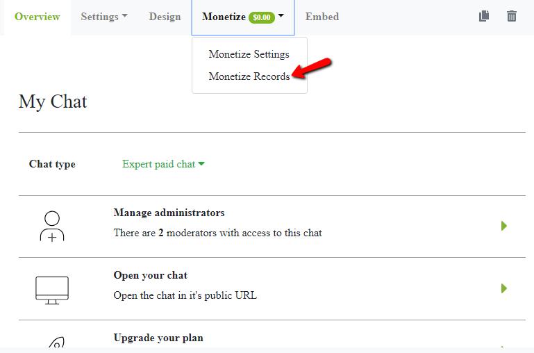 paid click monetize records