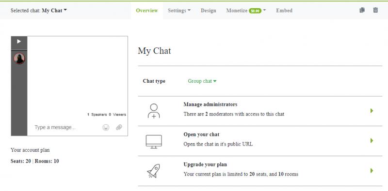 chat membership
