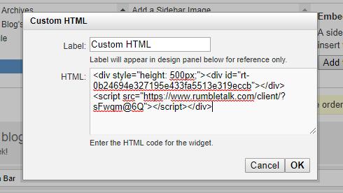 typepad html