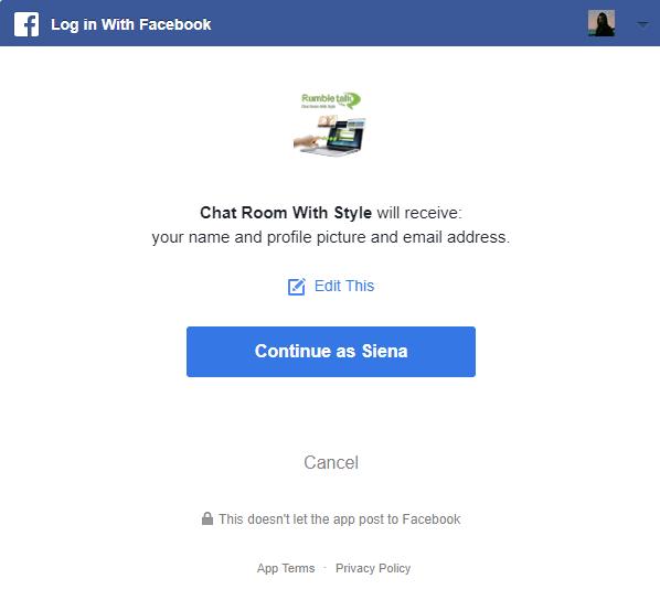 sign in facebook