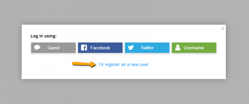 register users