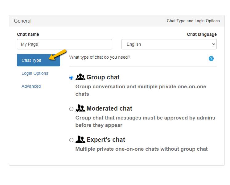 webcast chat