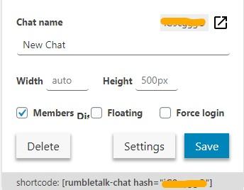 members chat