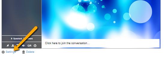 chat settings